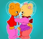 Lovely Bear Coloring