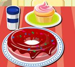 Sugary Donut Decoration