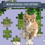 Jigsaw Puzzle: Cute Kittens